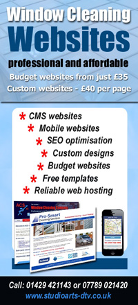 Window cleaning business websites