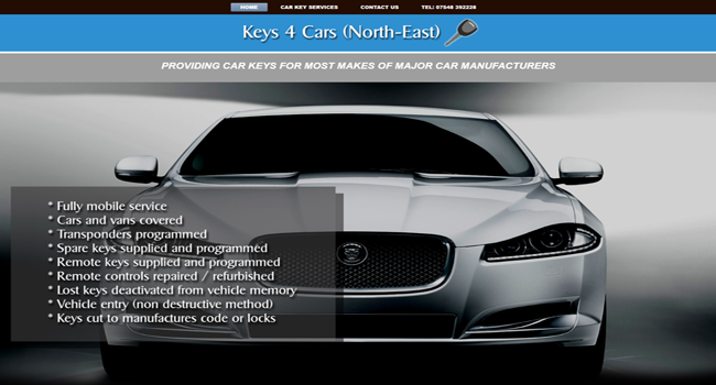 Keys 4 cars locksmith north east