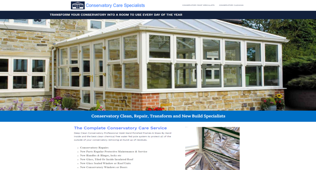 Conservatory care specialists