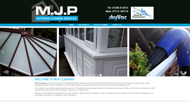 Window cleaning Canvey Island