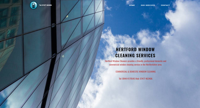Hertford Window Cleaning Services