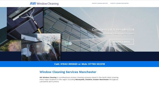 Window cleaners Manchester