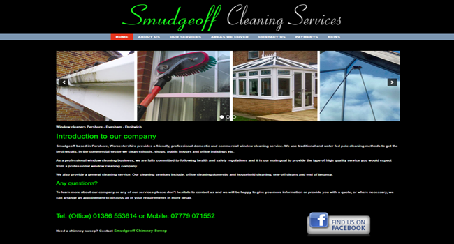 Smudgeoff window cleaning