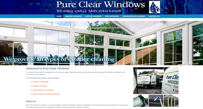 Window cleaning service Uxbridge