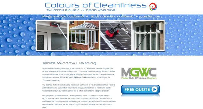 window cleaner brighton