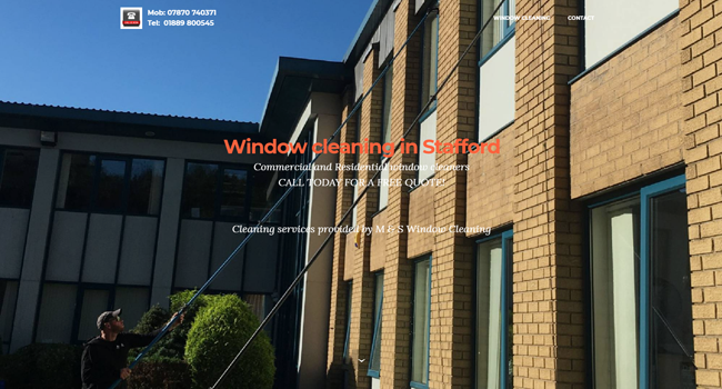 Window cleaner Stafford