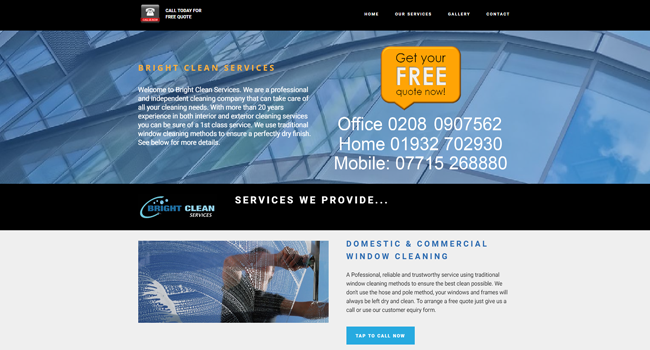 Bright Clean Services