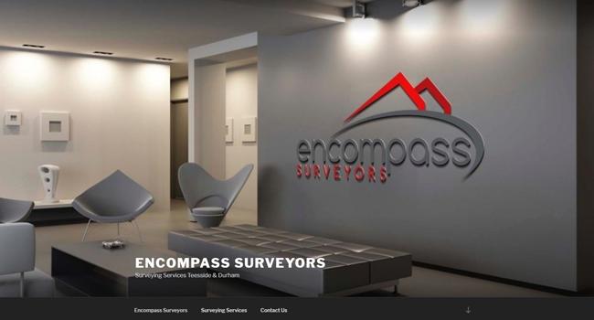 Surveyors website design